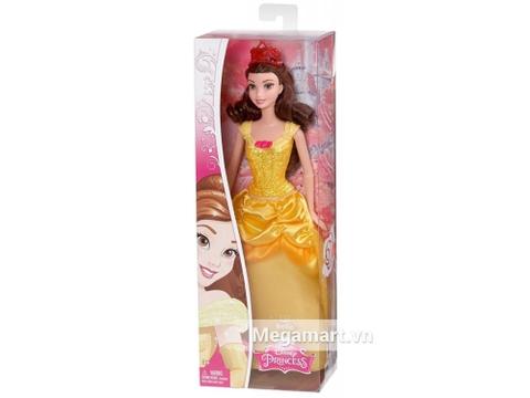 Thiết kế vỏ hộp bên ngoài bộ Barbie Công chúa Disney - Belle