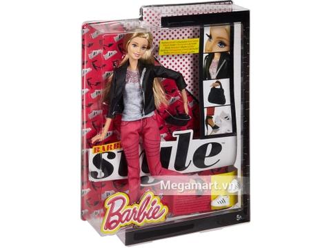 Barbie Style Trang phục thường ngày với vỏ hộp và đóng gói chắc chắn