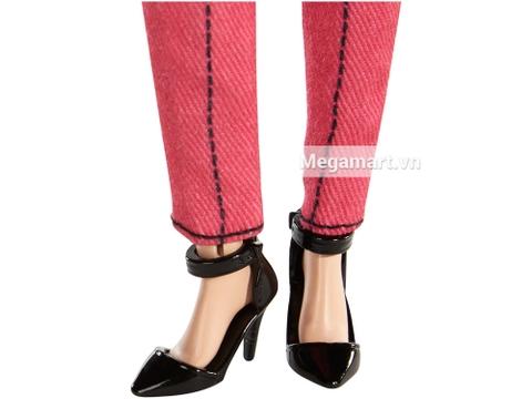 Barbie Style Trang phục thường ngày - giày cao gót