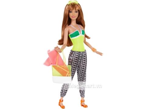 Barbie phong cách nghỉ mát – neon gồm nhiều chi tiết đẹp
