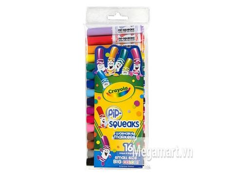 Hình ảnh vỏ ngoài của Crayola Bộ bút lông mini 16 màu