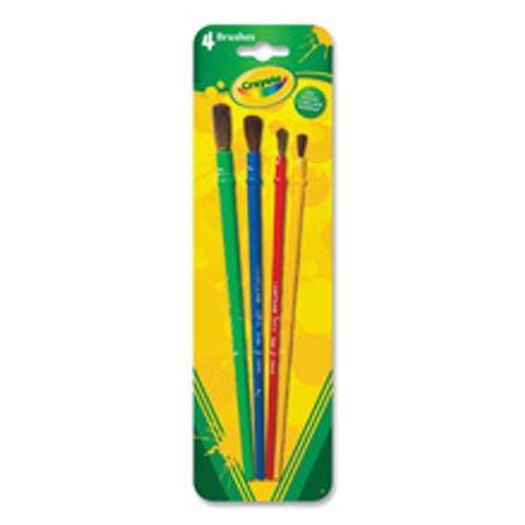 Crayola Bộ cọ 4 cây bộ 4 cây cọ độc đáo