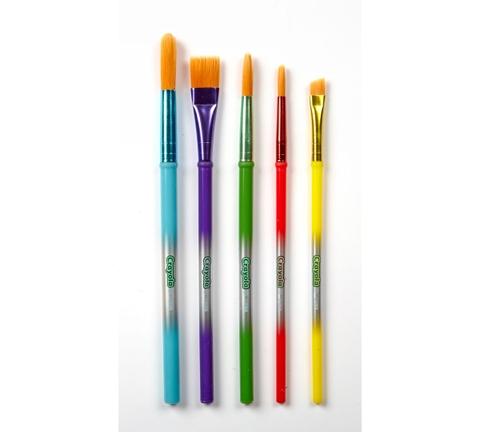 Crayola Bộ cọ 5 cây đủ kích thước