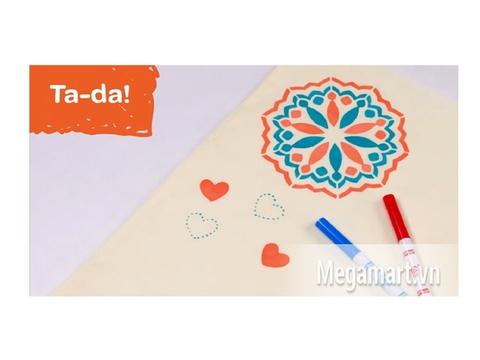Crayola Bộ dụng cụ trang trí quần áo - hình vẽ tuyệt đẹp cho bé sáng tạo
