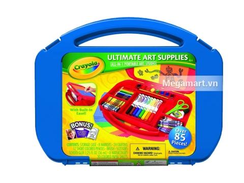 Hộp nhựa đựng Crayola Bộ dụng cụ vẽ vô cùng tiện lợi