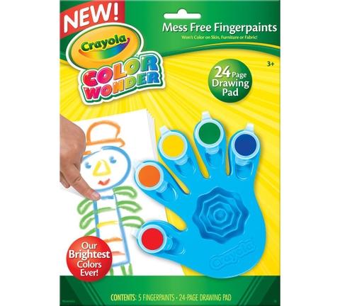 Đồ chơi Crayola Bộ màu vẽ bằng tay thiết kế độc đáo