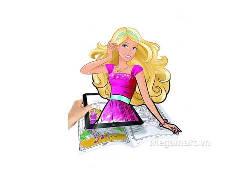 Cách chơi Crayola Bộ tô màu thần kỳ Barbie thú vị