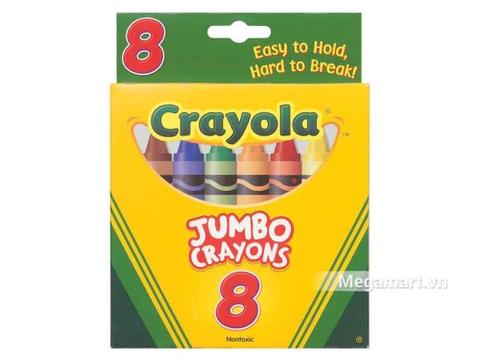 Thông tin chung bộ Crayola Bút sáp 8 màu loại lớn
