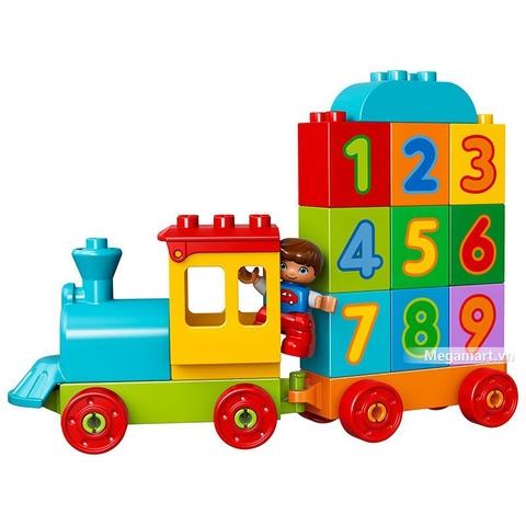 Các mô hình ấn tượng trong bộ Lego Duplo 10847 - Tàu lửa số học