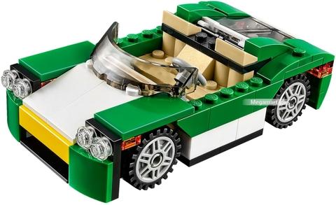 Các mô hình ấn tượng trong bộ Lego Creator 31056 - Xe mui trần xanh lá