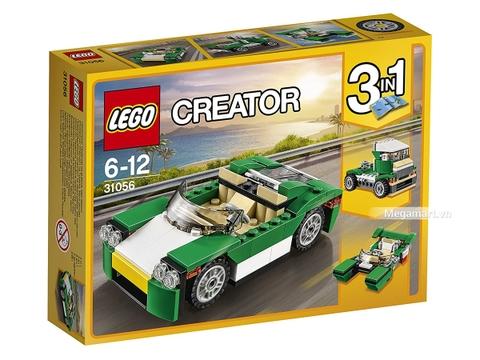 Hình ảnh vỏ hộp bộ Lego Creator 31056 - Xe mui trần xanh lá