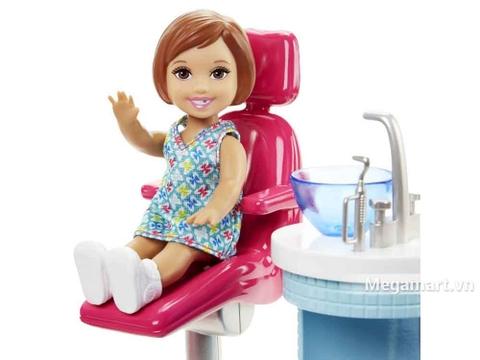 Barbie Bộ bác sĩ nha khoa - người bạn nhỏ đi khám răng