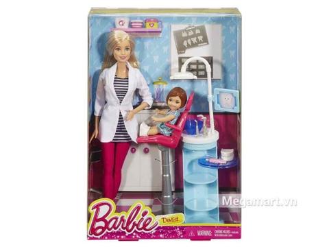 Barbie Bộ bác sĩ nha khoa - ảnh bìa sản phẩm