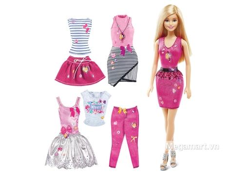 Barbie Bộ sưu tập thời trang dạo phố - có bộ sưu tập quần áo đa dạng