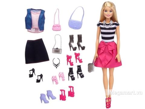Bộ thời trang giày búp bê cùng bé sáng tạo với đam mê thời trang