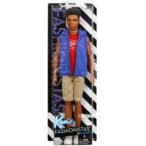 Barbie Fashionistas Ken - Steven áo khoác nỉ - Vỏ hộp sản phẩm