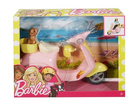 Barbie Xe máy - Hình ảnh vỏ hộp sản phẩm