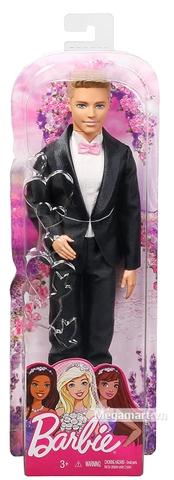 Barbie Chú rể Ken - Vỏ hộp sản phẩm