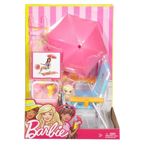 Barbie Bộ phụ kiện dã ngoại bờ biển - Hình ảnh vỏ hộp sản phẩm