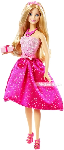 Barbie Búp bê sinh nhật gồm nhiều món đồ thú vị sưu tập cho bé gái
