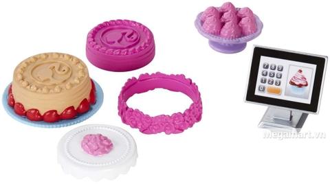 Barbie Chủ tiệm bánh gồm nhiều món đồ thú vị sưu tập cho bé gái