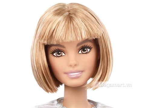 Barbie Fashionistas - Áo ren váy đỏ - gương mặt thân thiện