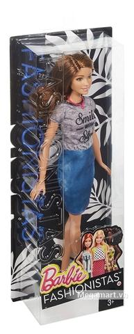 Barbie Fashionistas - Nụ cười phong cách - Vỏ hộp sản phẩm