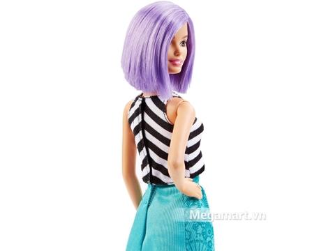 Barbie Fashionistas - Tóc tím - bộ đồ chơi thời thượng