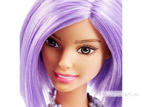 Barbie Fashionistas - Tóc tím - gương mặt thân thiện