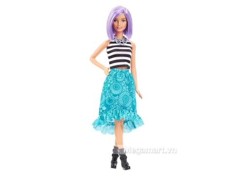 Barbie Fashionistas - Tóc tím - mẫu sản phẩm thời trang nổi bật