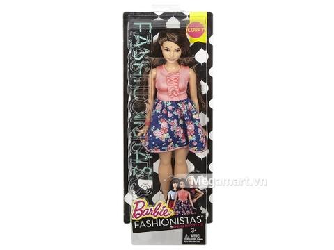 Barbie Fashionistas - Váy hoa phong cách mùa xuân - Ảnh ngoài của sản phẩm