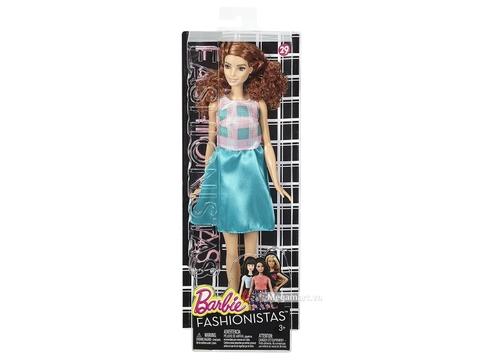 Barbie Fashionistas - Váy xanh mòng két - Vỏ hộp của sản phẩm