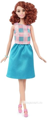 Barbie Fashionistas - Váy xanh mòng két - Chiếc váy tạo lên điểm nhấn