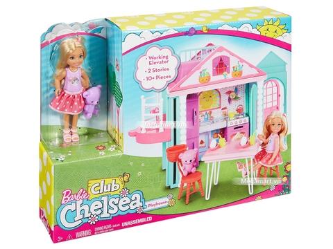 Barbie Ngôi nhà Chelsea - Hình ảnh vỏ hộp sản phẩm