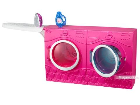 Barbie Nội thất nhà tắm - Máy giặt hiện đại, xinh xắn