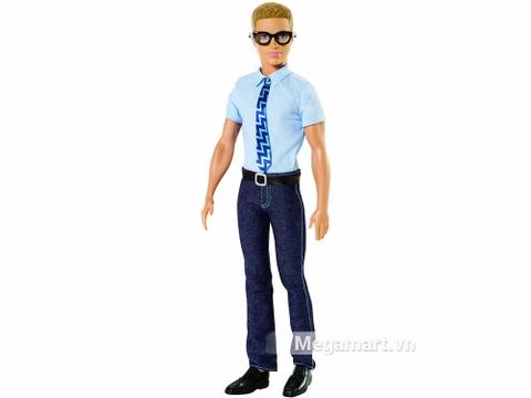 Barbie phóng viên Ken - chàng phóng viên năng động