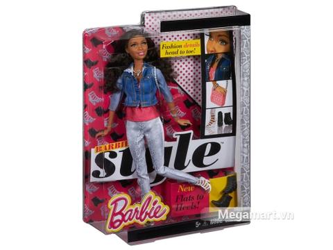 Barbie Style Nikki - Áo Jean với vỏ hộp và đóng gói chắc chắn