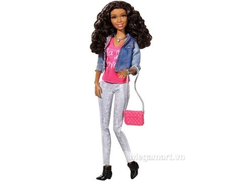 Cô nàng Barbie Style Nikki - Áo Jean có phong cách thời trang hiện đại
