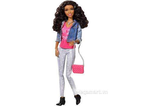 Barbie Style Nikki - Áo Jean gồm nhiều chi tiết đẹp