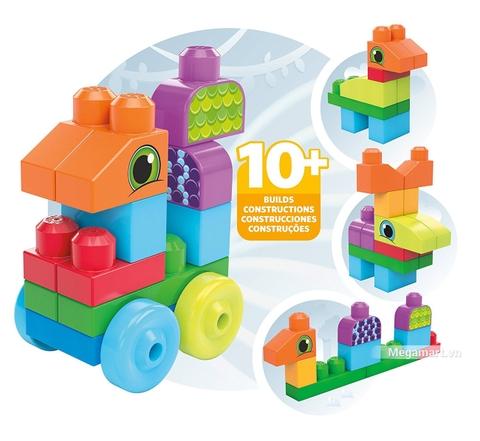 Các mô hình ấn tượng trong bộ Mega Bloks Xếp khối động vật