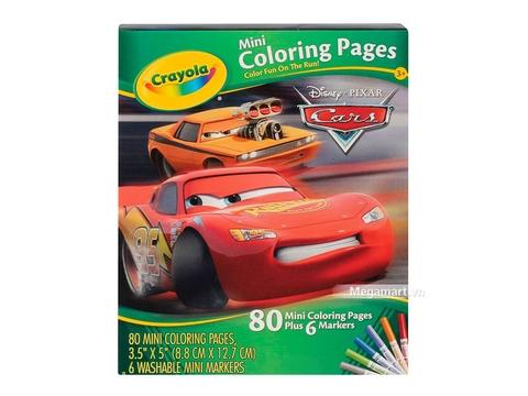 Thiết kế ấn tượng của Crayola Bộ bút giấy tô màu hình nhân vật (3 trong 4 hình)
