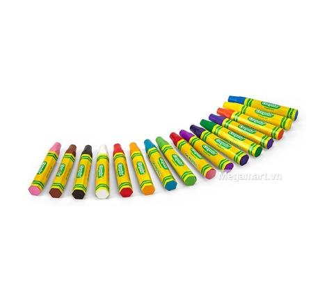 Thiết kế ấn tượng của Crayola Bút sáp dầu 16 màu