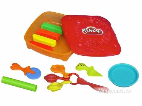 Play-Doh 20609 - Bữa tiệc Pizza - các chi tiết trong bộ đồ chơi
