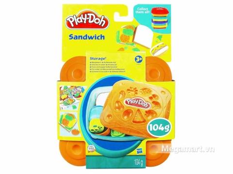 Play-Doh 20655 - Cửa hàng Sandwich - Hình ảnh vỏ hộp