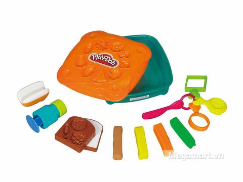 Play-Doh 20655 - Cửa hàng Sandwich - các chi tiết trong bộ đồ chơi