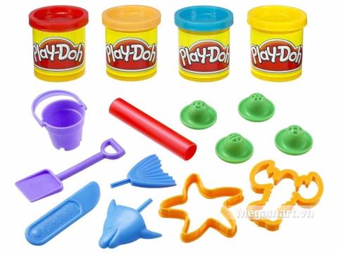 Play-Doh 23242 - Sáng tạo sinh vật biển - Thiết kế ấn tượng