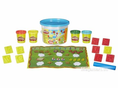 Play-Doh 23326 - Bộ số học vui nhộn - các chi tiết trong bộ sản phẩm