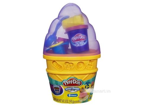 Play-Doh A2743 - Máy làm kem - Hình ảnh vỏ hộp