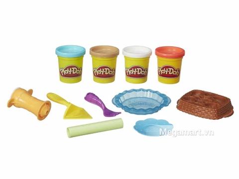 Play-Doh B3398 - Bánh mứt ngọt ngào - các chi tiết trong bộ đồ chơi