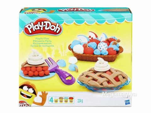 Play-Doh B3398 - Bánh mứt ngọt ngào - Hình ảnh vỏ hộp